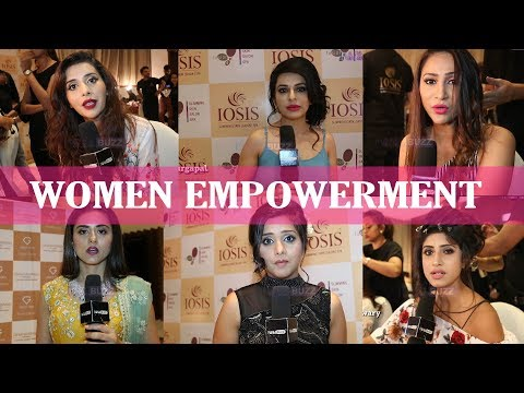 Celebs talk about women empowerment and security in India