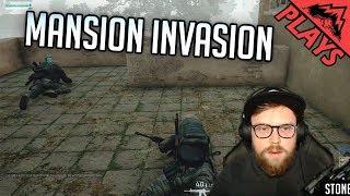MANSION INVASION - PlayerUnknown's Battlegrounds Gameplay #123 (PUBG Third Person Duos w/ 5tat!)