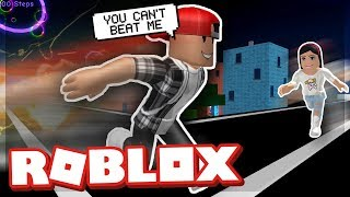 MEINE GIRLFRIEND THINKS SHES THE FASTEST IN THE GAME! - ROBLOX SPEED SIMULATOR 2