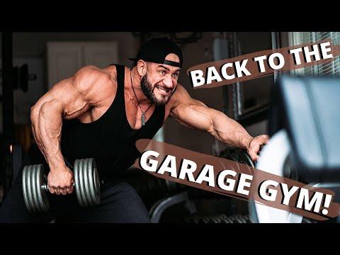 GARAGE GYM BACK WORKOUT + Q&A