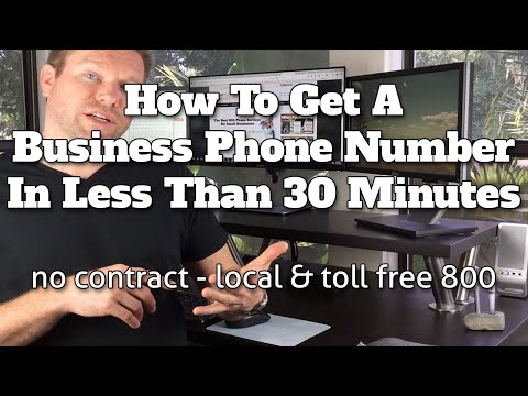 How To Get A Business Phone Number In Less Than 30 Minutes - Grasshopper VOIP - Best Phone Provider