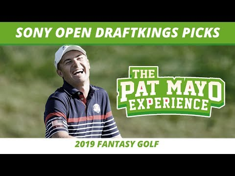 2019 Fantasy Golf Picks - Sony Open DraftKings Picks, Preview & Sleepers