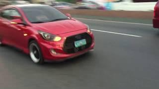 Hyundai Accent full exhaust system DRIFT XAUST