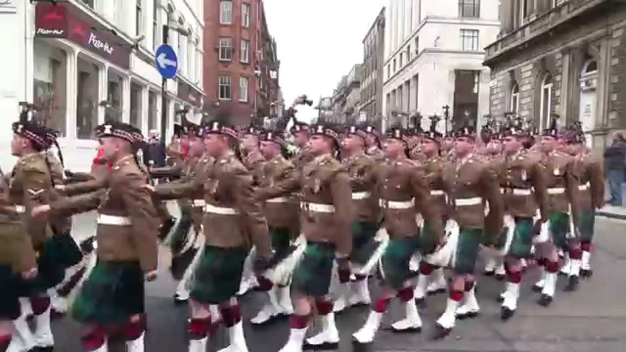 Royal Highland Fusiliers 2 Scots Glasgow Homecoming