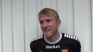 Carl Nyström inför derbyt mot Örgryte IS