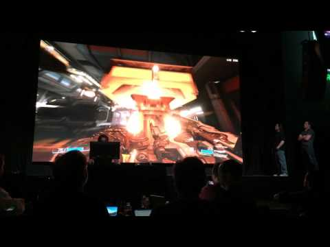 Doom running on GTX 1080 with Vulkan API