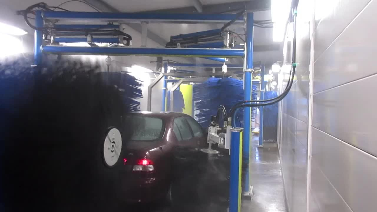 motor city wash works conveyor car wash shinex polishing