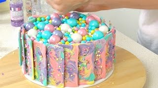 Rainbow Chocolate Cake - Cake Style