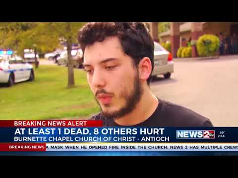 Breaking News Antioch Church Shooting