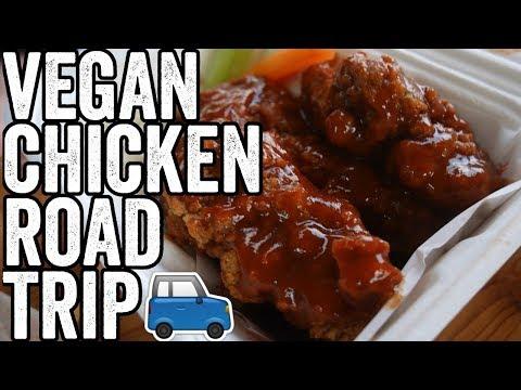 A Vegan fried 'chicken' Road Trip