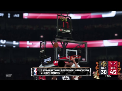 NBA 2K19 | Season Simulation | Warriors @ Bulls | Nuggets @ Bulls - Halloween