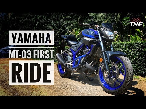 Yamaha MT03 Review