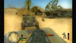 Delta Force   Black Hawk Down gameplay Ps2