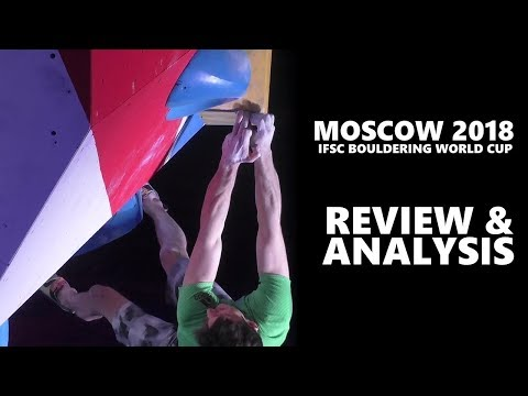 Slovenia and Japan took over! 2018 Moscow IFSC Bouldering World Cup analysis