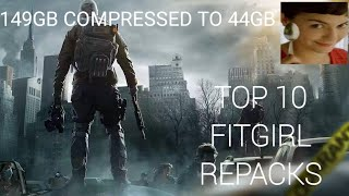 TOP 10 FITGIRL REPACKS (GAMES) HIGHLY COMPRESSED GAMES FOR PC