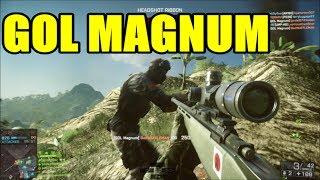 BF4 - GOL MAGNUM, Aggressive recon, Good squad | RUSH Attacking