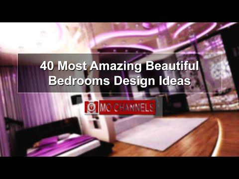 40 Most Amazing Beautiful Bedrooms Design Ideas