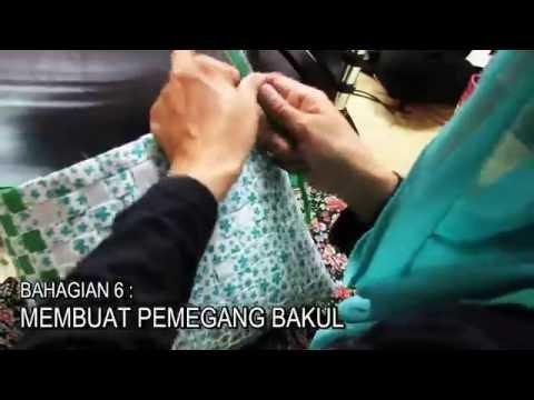Cara Membuat Bakul daripada Tali Plastik | #MYkomunitikreatif #MYkif