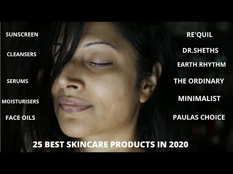 TOP 25 BEST SKINCARE PRODUCTS OF 2020 | AFFORDABLE TO HIGH END - SUNSCREEN, CLEANSERS, OILS & SERUMS