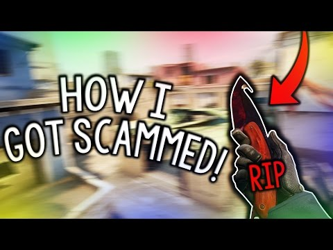 HOW MY KNIFE GOT SCAMMED IN CS:GO...