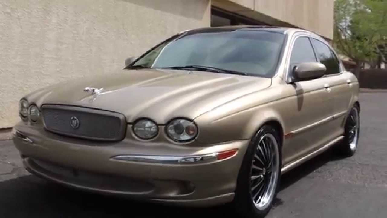 jaguar x type eibach lowering springs part 2 after youtube. Black Bedroom Furniture Sets. Home Design Ideas