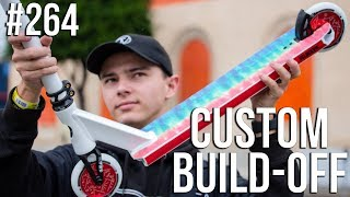 Custom Build Off #8!! - Part 1 (ft. Austin Spencer) │ The Vault Pro Scooters