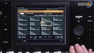 KORG TV / KRONOS (2015) Video Manual Teil 2_2 von 6 - Programme, Combination & Set List