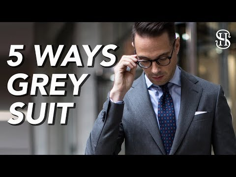 5-ways-to-wear-a-grey-suit-|-men's-outfit-ideas