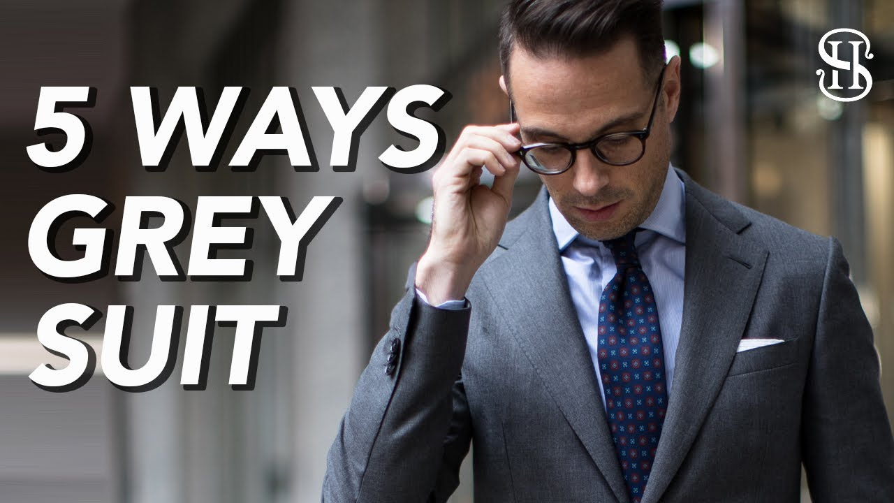 ca7fc0d3da5 5 Ways To Wear A Grey Suit