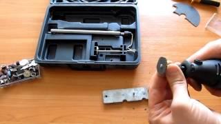 Как сделать отрезной диск для гравера.(В этом видео я вам расскажу как в домашних условиях можно изготовить отрезной круг для гравера., 2014-12-06T08:23:51.000Z)
