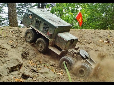 RC AXIAL SCX10 8x8 MAZ-537 and KRAZ-255