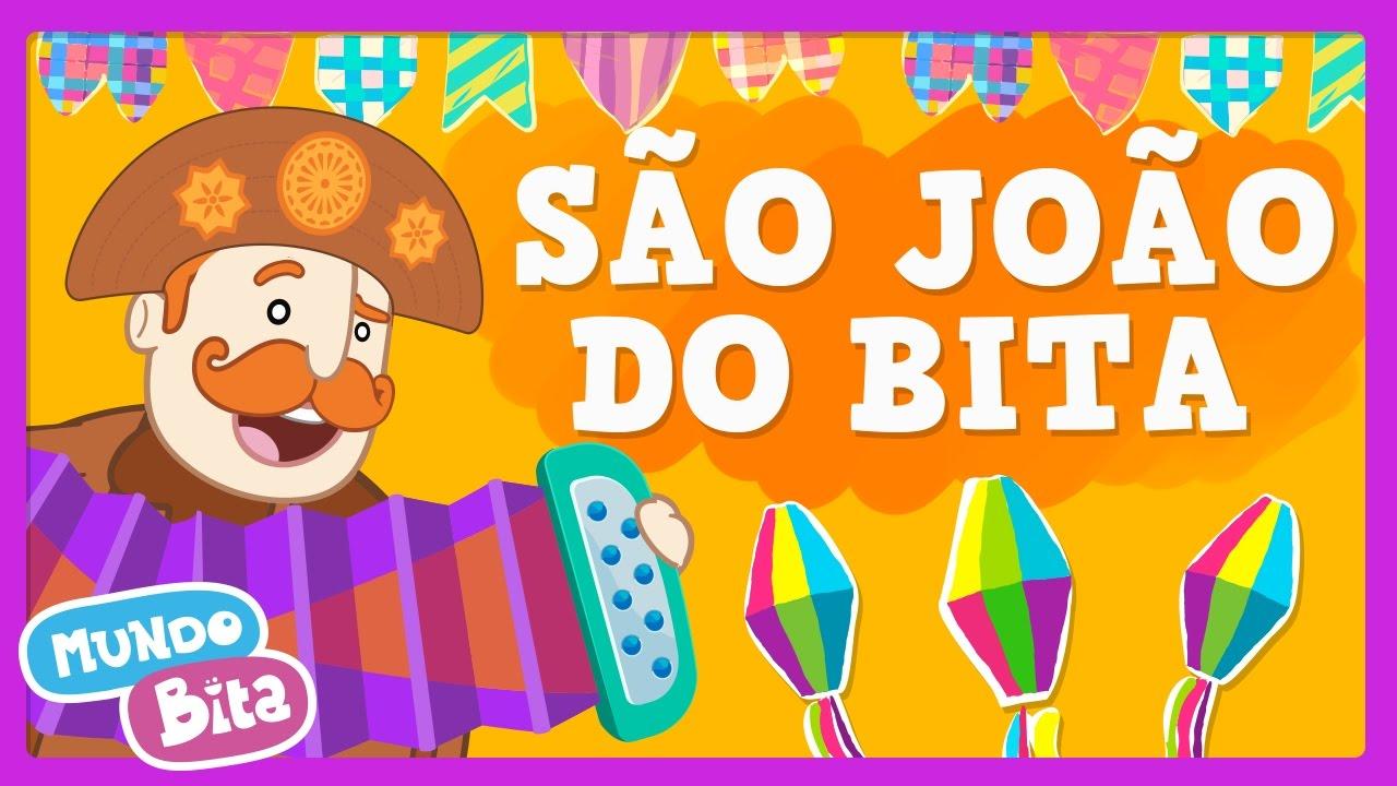 Mundo Bita São João Do Bita Clipe Infantil Youtube