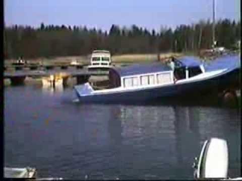 Veneen Lasku