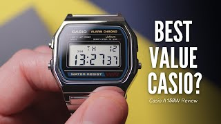 Casio A158W Review | Best Cheap Digital Watch For Men?