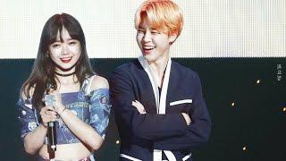 BTS Jimin x Choi Yoojung (Jimin & Yoojung VS ChimChim & Yoodaeng)