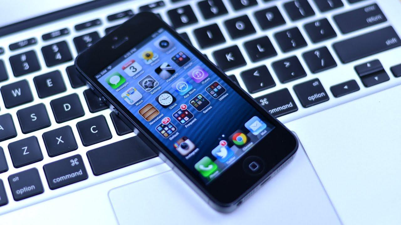 Jailbreak iPhone 5, iPod touch 5G & iPad mini on iOS 6.1 with evasi0n - YouTube
