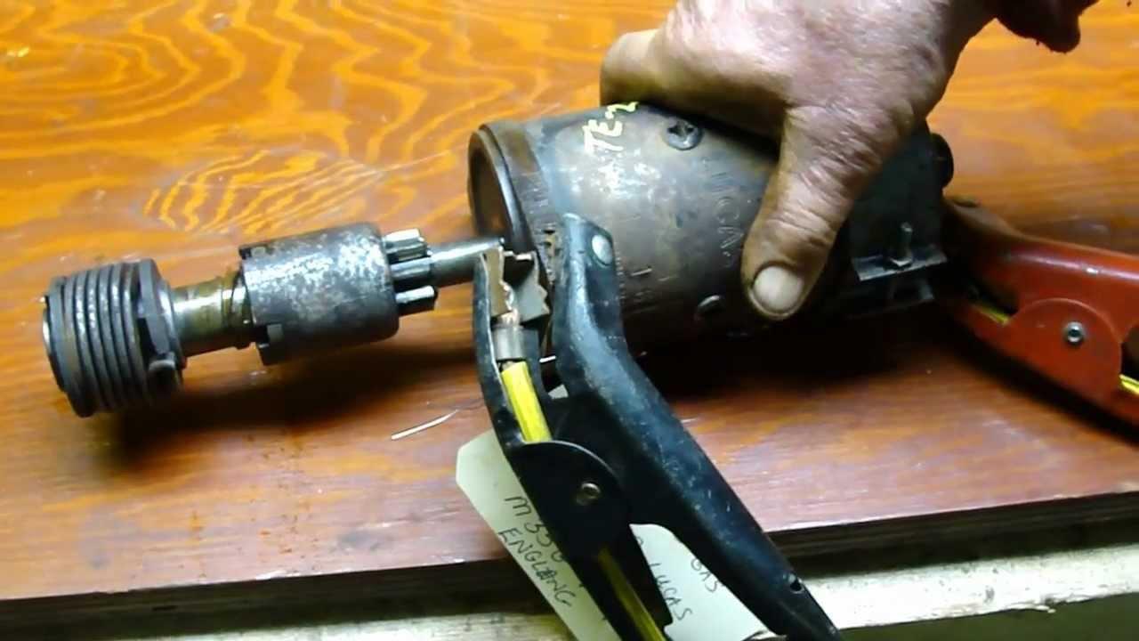 12 Volt Lucas Starter TEA 20 Ferguson 85mm Standard Gas