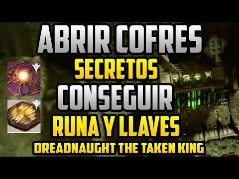 Destiny Como Abrir los cofres secretos en el acorazado de Oryx - Runa del cantagusanos Ur, Yuul, etc