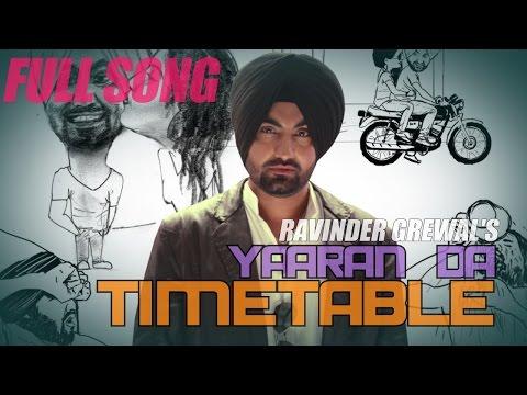 Yaaraan da Timetable | Ravinder Grewal
