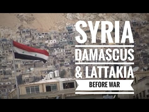 Trip to Syria from Damascus to Latakia جولة سورية من الشام ا