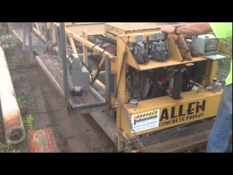 2008 ALLEN CONCRETE PAVERS TRTP200 For Sale