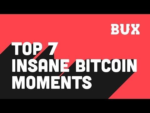 Top 7 Insane Bitcoin Moments