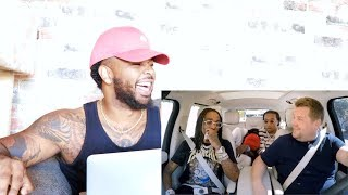 MIGOS CARPOOL KARAOKE | Reaction