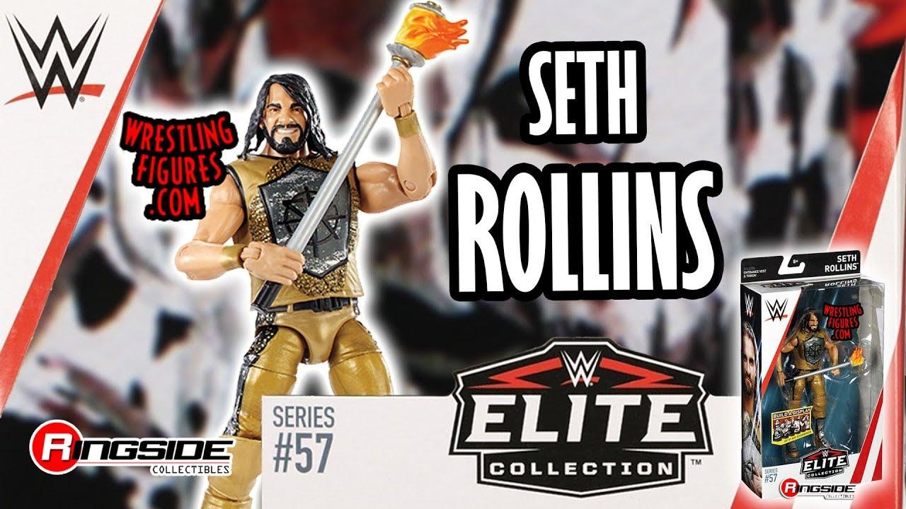 WWE Wrestling Elite Series #57 Seth Rollins Action Figure