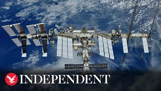 Watch astronauts as they leave the ISS for a spacewalk in orbit