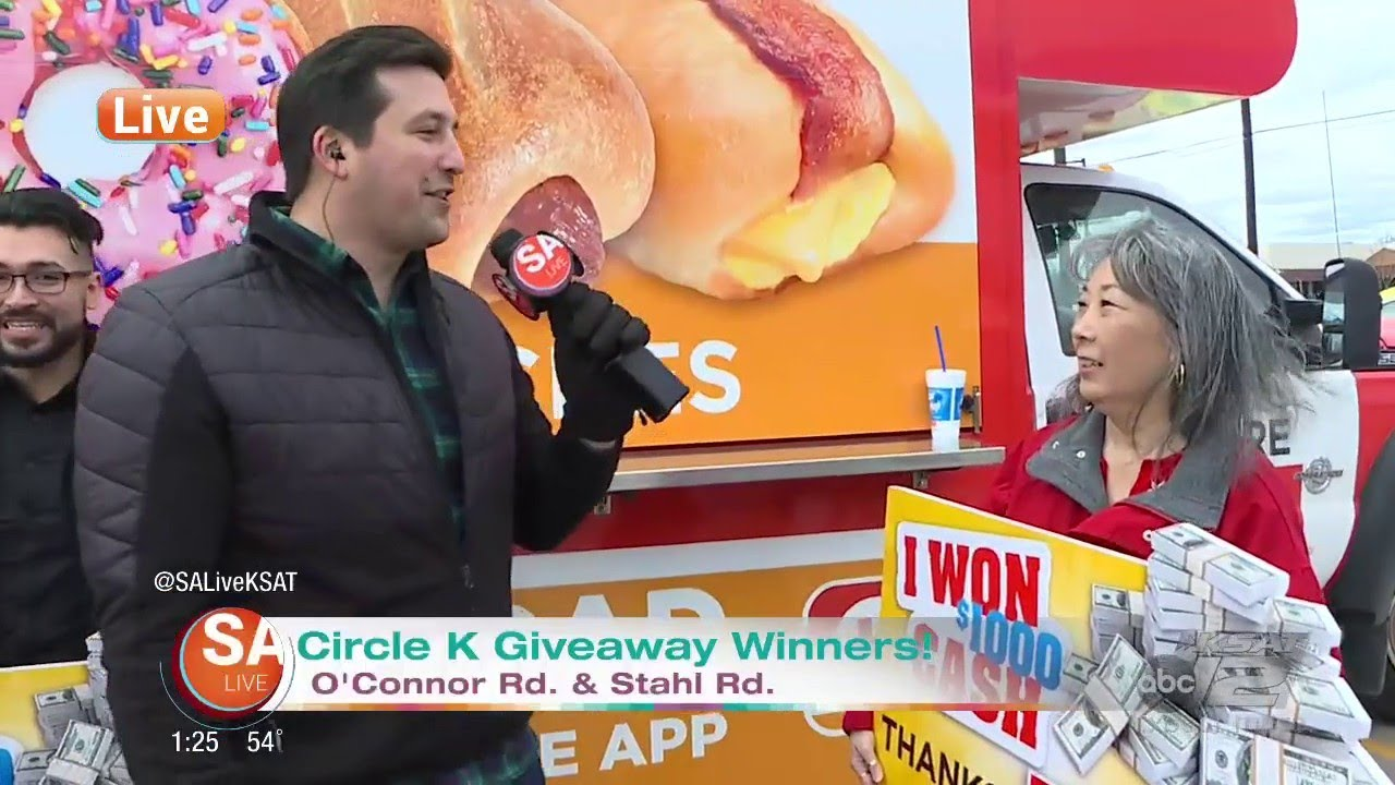 Circle K Giveaway Winners | SA Live | KSAT 12