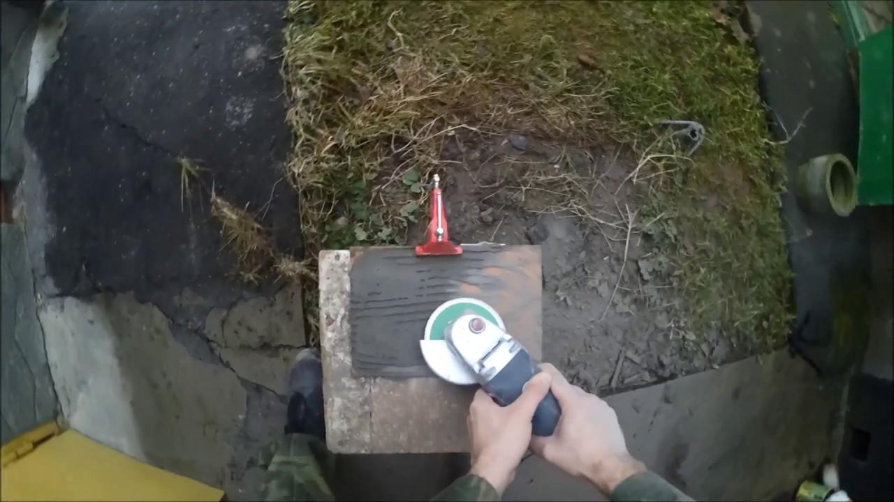 Как очистить плитку от старого клея (раствора)