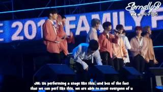 [ENG SUBS] 161022 LOTTE Fam Concert - EXO Ment