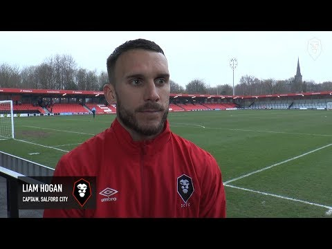 Salford City 1-0 Gainsborough Trinity - Liam Hogan post match interview0