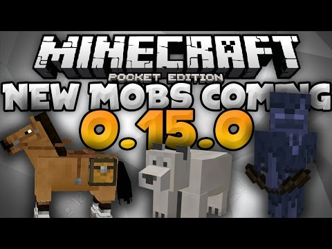 NEW MOBS ANNOUNCED for 0.15.0! - Horse, Polar Bear, & Brand New Mob - Minecraft PE (Pocket Edition)